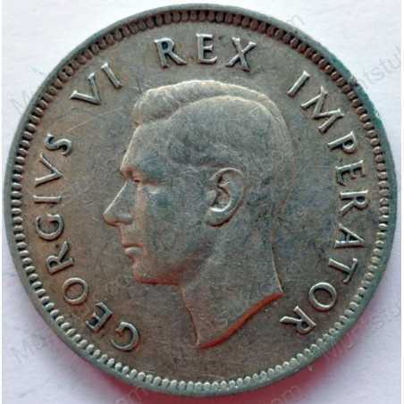 Shilling, South Africa, 1942, Silver