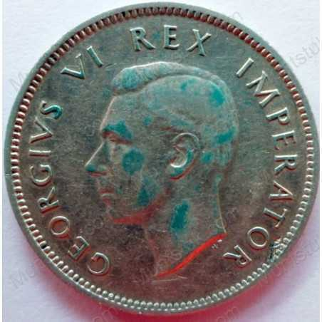 Shilling, South Africa, 1946, Silver