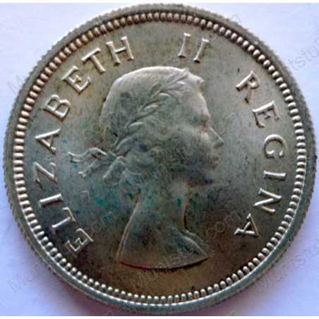 Shilling, South Africa, 1959, Silver